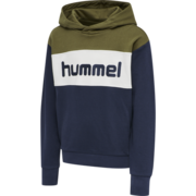 HMLMORTEN HOODIE, MILITARY OLIVE