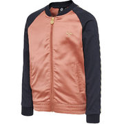 hmlIRMA ZIP JACKET, CEDAR WOOD