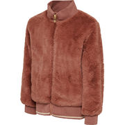 hmlBIANCA ZIP JACKET, CEDAR WOOD