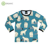 T-SHIRT L/S, POLAR BEAR