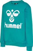 HMLDOS SWEATSHIRT, LAKE BLUE