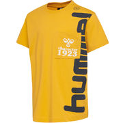 hmlTORBEN T-SHIRT, GOLDEN ROD