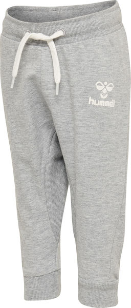 HMLAPPLE PANTS, GREY MELANGE