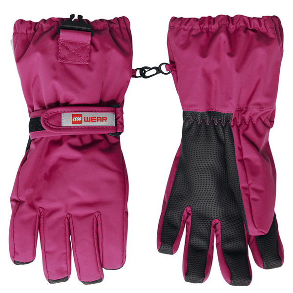 LWALFRED 703 - GLOVES W/MEM, Dark Pink