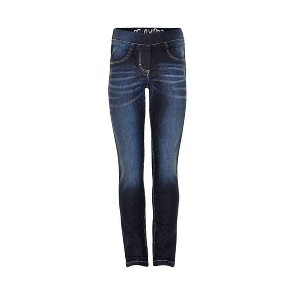 Jeans Girl jeggins dark blue (SLIM), Minymo