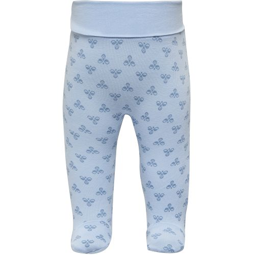 HMLBABY Bee Pants, blue fog