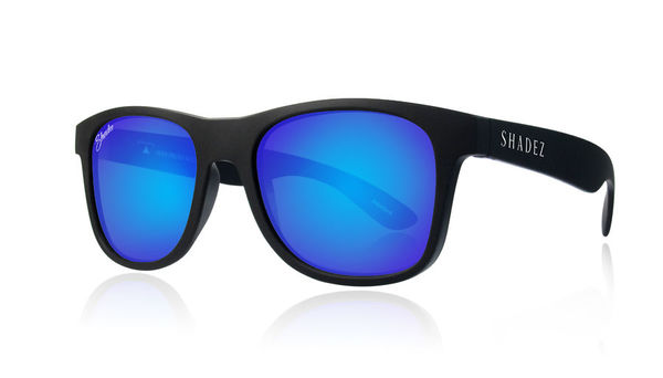 Shadez Aurinkolasit Black-Blue (Polarized)
