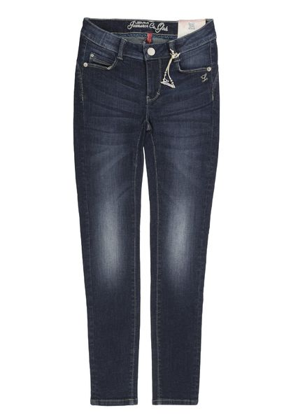 Jeggings Denim Girls dark blue (BIG), Lemmi