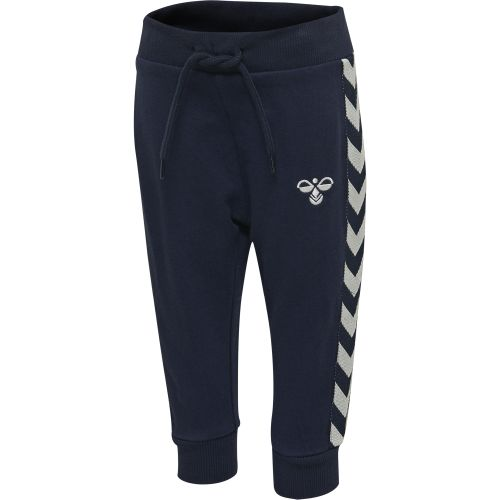 HMLBUCKS PANTS, BLACK IRIS