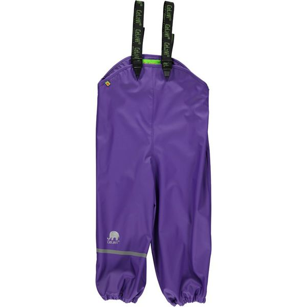 Kurahousut, Rainwear overall -solid Purple 110cm-130cm